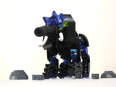 Elementaphant of Earth! (Bio-Cup 2018 Preliminary) (Drag0nax) Tags: biocup2018 element elements elephant elementaphant bionicle lego moc dragonax drag0nax
