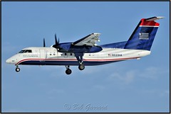 N933HA US Airways Express - Piedmont Airlines (Bob Garrard) Tags: de havilland canada dhc8 dash 8 n933ha us airways express piedmont airlines bwi kbwi