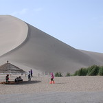 Dunhuang Sanddünen