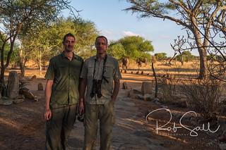 Rob & John at Tarangire Safari Lodge