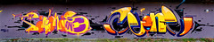 Artists: CeonOne and Fantomas (pharoahsax) Tags: ceon fantomas graffiti karlsruhe ka pmbvw bw baden württemberg süden deutschland kunst art streetart street urban urbanart paint graff wall germany artist legal mural painter painting peinture spraycan spray writer writing artwork tag tags worldgetcolors world get colors