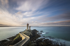 Minou and Sky (Tony N.) Tags: france bretagne finistère finistere petitminou minou phareduminou phare lighthouse plouzané sea seascape mer landscape paysage marin morning matin poselongue longexposure d810 nikkor1635f4 vanguard nd1000 tonyn tonynunkovics