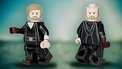 The Legendary Luke Skywalker (Crait) - 3D Custom Lego Star Wars Concept (Erik Petnehazi) Tags: 3d custom lego star wars concept last jedi legend luke skywalker crait minifigure mini minifig minifigures dual face cg cgi
