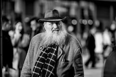 (graveur8x) Tags: man candid street portrait hat old frankfurt germany deutschland streetphotography city beard look dof blackandwhite bw bokeh monochrome schwarzweis stadt urban bart zeil centre people outdoor outside contrast sun canon canoneos5dmarkiv 135mm canonef135mmf2lusm f2
