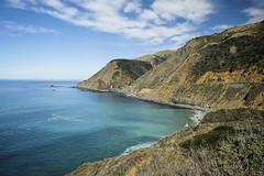 Big Creek Bridge (San Francisco Gal) Tags: bigcreekbridge bigsur californiahighway1 pacific ocean hill cliff landscape seascape water sea cloud