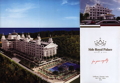 Side Royal Palace Hotel & Spa - for your royalty; 2015_1, Manavgat, Antalya, Turkey (World Travel Library - collectorism) Tags: sideroyalpalace 2015 spa hotel resort hospitality hotelbrochurefrontcover frontcover manavgat turkey türkiye brochure worldtravellibrary worldtravellib holidays tourism trip touristik touristisch vacation countries papers prospekt catalogue katalog photos photo photography picture image collectible collectors collection sammlung recueil collezione assortimento colección ads gallery galeria touristische documents dokument broschyr esite catálogo folheto folleto брошюра broşür