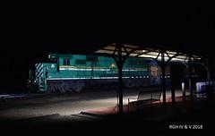 """Hudson Bay By The """"Flash""""Light (R.G. Five) Tags: train railroad oregob il aurora sub bnsf railway omlx hlcx"""