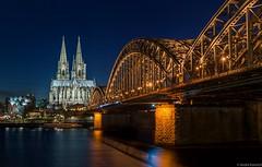 Cologne Cathedral (hoppla007) Tags: architecture bridge brücke cathedral church cologne dom europa europe fluss germany köln landscape location nordrheinwestfalen northrhinewestphalia objects ort rhein rhine river deutschland de
