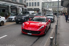 812 Superfast (Nico K. Photography) Tags: ferrari 812 superfast red supercars nicokphotography switzerland zürich