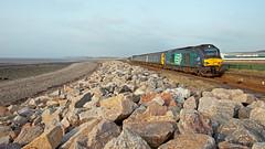 Vossloh Light (Richie B.) Tags: 2c42 flimby cumbria arriva northern trains drs direct rail services vossloh caterpillar class 68 68004