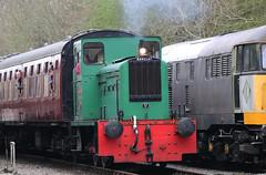 Kingswood, Barclay 0-4-0DM, Avon Valley Railway, Bitton, Gloucestershire (Kev Slade Too) Tags: kingswood barclay 040dm avonvalleyrailway bitton gloucestershire diesel