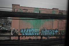 Ezaf, Kurt, Wrist (NJphotograffer) Tags: graffiti graff new jersey nj trackside rail railroad ezaf kurt wrist