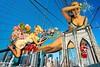 Pin-Ups On Brooklyn Bridge - By SilviAne Moon. (Silviane Moon) Tags: arte brooklynbridge digitalart digitalcollage digitalpainting futuristic photomanipulation surreal surrealart surrealism surrealismo surrealistic surrealfantasy art silvianemoon silvianemoonart newyorkcity