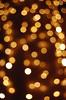 Dangling Lights Bokeh (hollyzade) Tags: bokeh background lighting blur texture lights mall fairylights contrast yellow white orange brown nikon d40 nikond40 textures creative commons