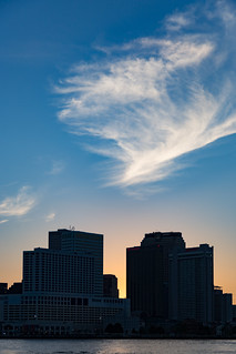 Wispy New Orleans Sunset