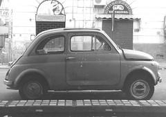 500 (I'm Daleth) Tags: fiat 500 auto car old motore via dante palermo sicilia