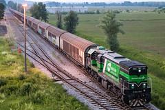 Skinest Rail 2044 003, Novi Dvori (josip_petrlic) Tags: hž hz hrvatske željeznice željeznica železnica 2044 freight passenger train croatian railways trains station landscape emd gt22 diesel locomotive
