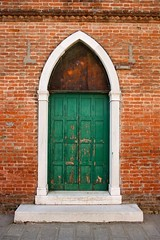 Stock Images (perfectionistreviews) Tags: arch architecturaldesign architecturaldetail architecture brick building closed door edifice entrance europe facade gothicarchitecture gothicdesign italy lifestyle nobody old shut steps venice weathered color photograph vertical colorful exterior outdoors