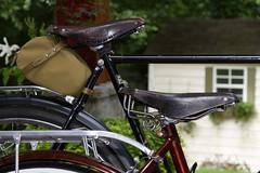 Raleigh Tourist and Ladies Sports (MPalima Photography) Tags: raleigh bike bicycle vintage nottingham brooks 3speed threespeed sturmey sturmeyarcher dl22l dl1 raleighsports raleightourist raleighdl1 raleighladiessports