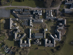 #55 Asylum (Timster1973 - thanks for the 16 million views!) Tags: mavic drone uav quadcopter dji mavicprodrone djimavicpro fly up uphigh droneflying tim knifton timster1973 timknifton explore exploration perspective lookdown lookingdown color colour asylum building structure maze outdoor external exterior architecture wales midwales talgarth derp derelict decay decayed decaying dereliction abandoned abandon abandonment abandonedplace ue