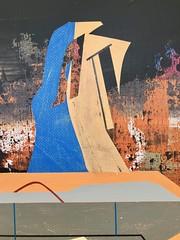 Jim Harris: The Sky Watchers. (Jim Harris: Artist.) Tags: aer arte painting peinting peinture lartabstrait abstractart kunst künstler kunstzeitgenössische painter artist maalaus malerei málverk målning