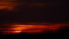 Sun On The Prairie (Tim @ Photovisions) Tags: sky nebraska grass prairie dawn dusk sun sunrise sunset clouds