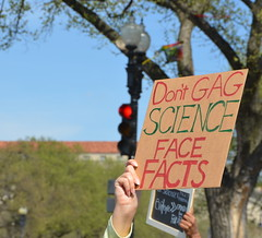 Don't gag science face facts (afagen) Tags: washington dc washingtondc districtofcolumbia marchforscience sciencemarch science sign