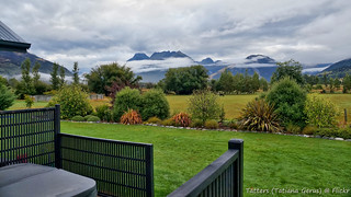 View from our accommodation,  Glenorchy, New Zealand