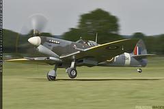 Mark IX (zoomerphil) Tags: headcorn aerodrome kent spitfire fly flight supermarine ww2 battle britain bbmf