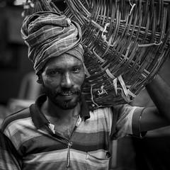 Job (shravann93) Tags: nikon nikond700 nikonasia portrait india asia street blackandwhite ngc 50mmf18 chennai koyembedu indianphotographer shravann93