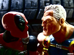 Deadpool & Cable (THE AMAZING KIKEMAN) Tags: deadpool cable ryan reynolds josh brolin nathan summers wade wilson merc with a mouth 2018 2 comic movie action figures toy biz marvel