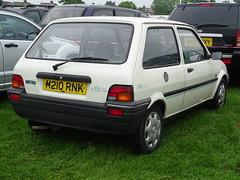 1994 Rover Metro Rio (Neil's classics) Tags: vehicle 1994 rover metro rio car