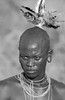 Ethiopia : Surma warrior (foto_morgana) Tags: africa afrika afrique analogphotography analogefotografie blackwhitephotography caractère character editorialonly ethiopia ethnic ethnicity ethnie etnia etniciteit headgear jewellery joaillerie joyéria juwelen karakter kibish man mo monochrome native necklace nikoncoolscan nomodelrelease omovallei omovalley outdoor people persoonlijkheid photographienoiretblanc photographieanalogue portrait portret suri surma traditional traditionalculture traditioneel traditionnel travelexperience tribal tribe vallebajodelomo valléedelomo vuescan zwartwitfotografie