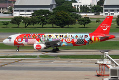 HS-ABD Air Asia A320 (twomphotos) Tags: plane spotting vtbd dmk don muang afternoon air asia airbus a320 colorfullspecial bestofspotting