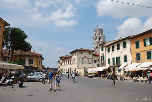 Пізанська вежа, Піза, Італія InterNetri Italy 194