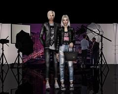 Emily and Christophe (=Iolanta=) Tags: people couple cinema studio love