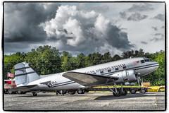 Douglas DC-3 (NoJuan) Tags: olympuspenf 425mm microfourthirds micro43 m43 mirrorless artfilter olympusartfilter dc3 airplane vintageairplane historicflightfoundation painefield panamerican c47 douglasdc3