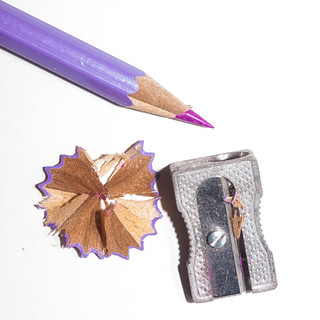 365.78 - Pencil and sharpener.