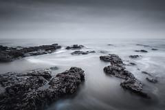 Depths (jellyfire) Tags: bawdsey beach bluehour canon5dmkii canontse45mmf28mkii coast distagont3518 eastanglia landscapephotography longexposure sea suffolk sunrise water ze zeissdistagont18mmf35ze canon carlzeiss dawn rocks