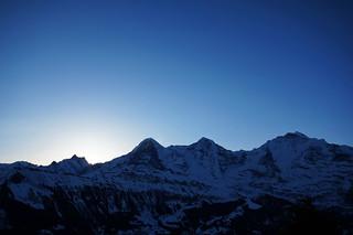 Eiger, Monch und Jungfrau
