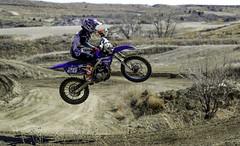Spring! is here. (.sanden.) Tags: motocross jump action dirt aztecfamilyraceway colorado helmet 26 yamaha canon7dmarkii ef24105mm us unitedstates coloradosprings