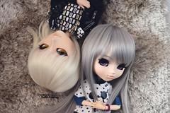Kiba & Ianthe (·Yuffie Kisaragi·) Tags: doll dolls pullip suigintou ianthe taeyang kain kiba obitsu rewigged rechipped