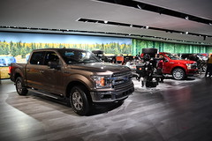Ford Truck Display - -2018 North American International Auto Show (Corvair Owner) Tags: north american international auto show detroit michigan mi mich new car display automobile truck suv crossover manufacturer january 2018 cobo arena hall center winter ford