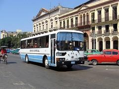 OMNIBUS METROPOLITANOS, No. 88 Servicio Especial  Marzo/23/2011 (ROGALI) Tags: omnibusmetropolitanos servicioespecial no88 hyundaibus guaguasdecuba guagua omnibus bus hyundaiaerocity540 habana cuba rogali