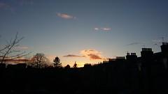 Evening Glow, Aberdeen, March 2018 (allanmaciver) Tags: evening glow aberdeen north east scotland chimney silhouette still quiet allanmaciver