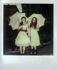 Lolitas (irrational.photography) Tags: rational irrational photography photo irrationalphotography rationalphotography irrationalphoto polaroid theimpossibleproject impossible project original originals polaroidoriginals retro vintage antique hipster old analogue analog film square picture onestep spectra image procam se sun sx70 sx 70 600 640 660 autofocus slr 680 jobpro montreal quebec canada self developing instant border