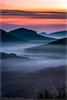 Dream of Avalon (Peter Daum 69) Tags: fog landscape scenery dream traum avalon burg castle rock fels sonnenaufgang sunrise sunset wolken clouds canon farbe color mystik