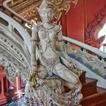 Sculpture inside Erawan Museum in Samut Phrakan, Thailand thumbnail