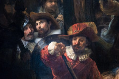 The 'Night Watch' (detail) | Rembrandt van Rijn | 1642 | The Rijksmuseum-19 (Paul Dykes) Tags: rijksmuseum museumofthenetherlands art gallery museum amsterdam netherlands nl holland