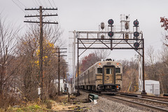 Changing of the Guard (sullivan1985) Tags: metronorth westbound njtransit njt njtr mncw comet v gp40ph2 njtr4102 signal signals searchlights centralvalley fall autumn cloudy passenger passengertrain commuter commutertrain southerntier portjervis westofhudson woh